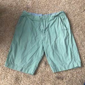 Jcrew mint green shorts
